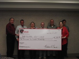 Check Presentation to the NWA Regional HIV Clinic